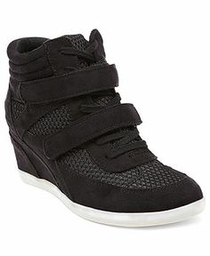 Madden Girl Shoes, Hickory Wedge Sneakers - Shoes - Macy's