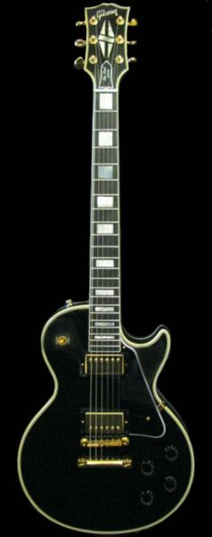 1989 Gibson Les Paul Custom.  One of the most important women in my life.