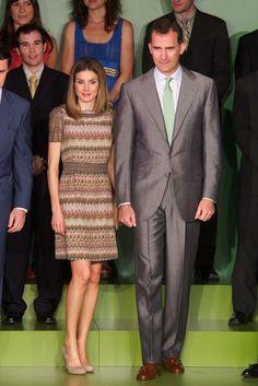Queen Letizia of Spain Photos: Spanish Royals Attend Iberdrola Foundation…