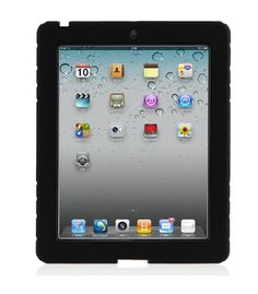 "ArmorBox Stand Case for iPad 2 & 3- $27.95; protective case with a ""kick-stand"" for propping that iPad up!"