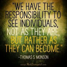 ~We Have The Responsibility...~