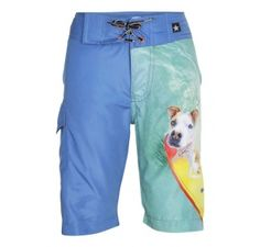 Molo Boys Alvaro Surfing Dogs Board Shorts  at Wellies and Worms