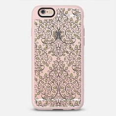 Natures Decoration - Gold Transparent - New Standard Case @casetify #Casetify #iphonecase #phonecase #phonecover #nature #transparentcase #clearcase #damask #pattern #gold