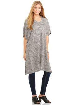 6bc443642 Cato Fashions Side Slit Extreme Tunic Top-Plus #CatoFashions Plus Size  Women's Tops,