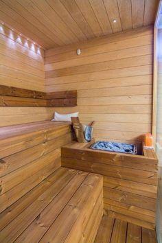 Soukromá rodinná sauna v Brně - Sauna. Saunas, Deck, Outdoor Decor, Home Decor, Decoration Home, Room Decor, Front Porches, Steam Room, Home Interior Design
