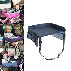 Best deals on amazon for Car Tray Table For Kids Waterproof Adjustable Safety…