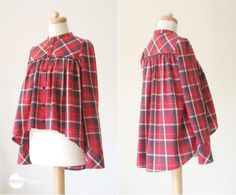 Free optional sewing pattern parts for cropped top waffle patterns