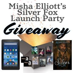 #FREE Books #AmazonGC & #KindleFire Misha Elliott's Silver Fox