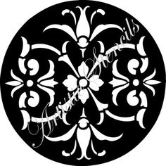 Hey, I found this really awesome Etsy listing at https://www.etsy.com/listing/71207837/stencil-round-floral-damask-background