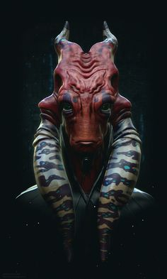 """Another Alien by CHS. """"Another work based on another concept artist Zarnala. I hope you enjoy."""""""