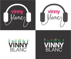 Vinny Blanc DJ Logo