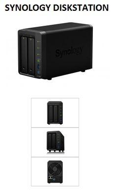 "SYNOLOGY DISKSTATION DS716+ 2 X TOTAL BAYS NAS SERVER - DESKTOP - INTEL CELERON N3150 QUAD-CORE (4 CORE) 1.60 GHZ - 2 GB RAM DDR3 SDRAM- 2 X 2.5""/3.5"" BAY - GIGABIT ETHERNET - ESATA - 3 USB"