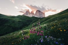 Last light at Sasso Lungo by Merlin Kafka on 500px