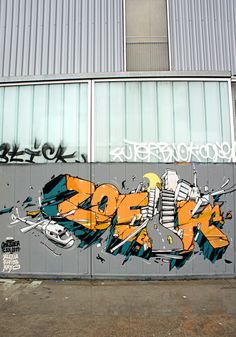 3dgraffiti:  by zoer CSX