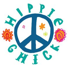Have a 60's rendezvous with the #Hippie Chick!  #Retro designer temporary tattoo from #Gumtoo www.gumtoo.com
