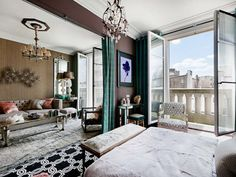 Hubert Zandberg - London Interior Designer - Theme: 1950s Hollywood  - Daniel Féau Conseil Immobilier