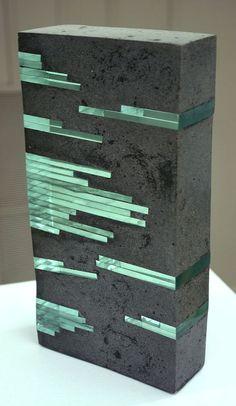 Emerald Cut 2008 Private Collection by Arlene Justice - Justice . - Emerald Cut 2008 Private Collection by Arlene Justice – # SmaragdS - Cement Art, Concrete Cement, Concrete Furniture, Concrete Crafts, Concrete Projects, Concrete Design, Concrete Light, Concrete Planters, Art Concret