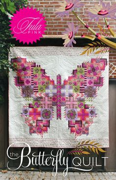 Butterfly quilt by Tula Pink