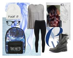 """""""School's back"""" by hereisprincessh on Polyvore featuring mode, H&M, Peace of Cloth, Disney et Uncommon"""