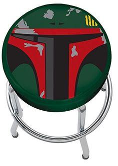 Plasticolor Star Wars Boba Fett Garage Stool - http://www.caraccessoriesonlinemarket.com/plasticolor-star-wars-boba-fett-garage-stool/  #Boba, #Fett, #Garage, #Plasticolor, #Star, #Stool, #Wars #Garage-Shop, #Tools-Equipment