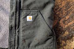 Carhartt Women's Sherpa-Lined Sandstone Mock-Neck Vest