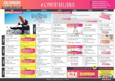 gym virtual calendario agosto 2020