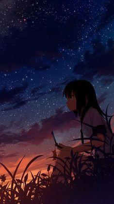 Fantasy Dark Anime Scenery Wallpaper