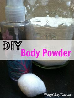 How to Make Your Own Body Powder