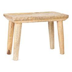 wood stool zara