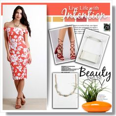 How To Wear Floral Dress 4 5 Outfit Idea 2017 - Fashion Trends Ready To Wear For Plus Size, Curvy Women Over 20, 30, 40, 50