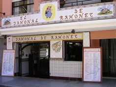 El Jamonal de Ramonet - easily missed from the outside. This is in Denia, but they also have one on the Arenal in Javea - even better.