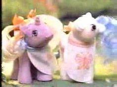1980's My Little Pony Peekaboo Pony Commercial