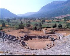 Dodoni Ancient Theater - 15 minutes from Ioannina City - this is a definite must, perhaps saved for a last day trip for a special conversation or workshop there.