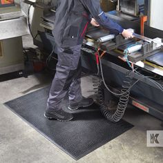 Kleen-Kushion - Anti-fatigue floor cushion for the busy workplace. Shopping Websites, Floor Cushions, Beautiful Space, Golf Bags, Workplace, Flooring, Blue Prints, Floor Pillows, Wood Flooring