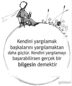 Gaf Ebesi on - Devamı İçin Tıkla! Wise Quotes, Lyric Quotes, Book Quotes, Cool Words, Wise Words, Mysterious Words, Meaningful Lyrics, The Little Prince, Beautiful Words