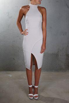 Lisa Dress Bone