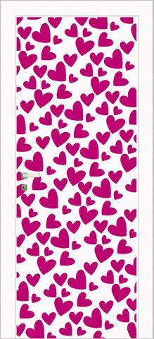 Rain Of Hearts Collection / #pink #hearts #italian #door | Bright colorful doors! | Pinterest | Pink Heart and Spring