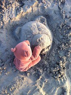 Sand sculpture!