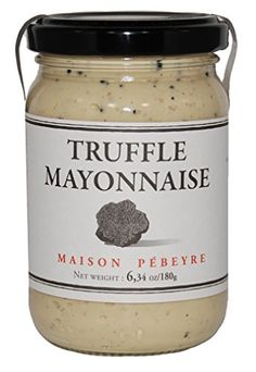 * Details can be found by clicking on the image. Cooking Oil, Mayonnaise, Truffles, Gourmet Recipes, Mason Jars, Sandwiches, Tableware, Desserts, Dessert