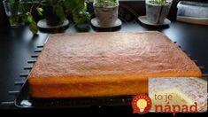 """Konečne geniálna piškóta """"Univerzál"""" bez gramu múky: Tento koláč pobláznil celú rodinu, pripravíte ho v každej príchuti!"""