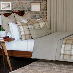 Sandman's Rustic Plaid Beach House Bedding | Nautical Luxuries