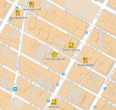 Breakfast Restaurants Map