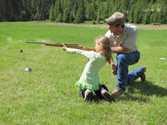 Dear husband, get ready to teach our baby girl how to shoot a gun one day. It's already been decided.