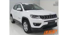 New 2017 Jeep Compass Leaked Again, This Time In China #China #Guangzhou_Auto_Show