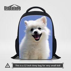 6d11f2224be4 Dispalang 3D שקיות ילדי בית ספר הדפסת ילדי כלב בעלי חיים תיק של תרמיל 12  Inch. Small BookbagsSchool Bags For KidsKids BackpacksChildren s ...
