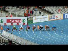 [HD] Christophe Lemaitre Champion d'Europe 100 mètres 2010 à Barcelone - YouTube