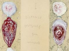 Louise Bourgeois, I Distance Myself from Myself
