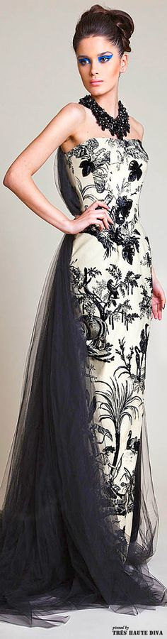 Azzi & Osta Spring 2014 Couture