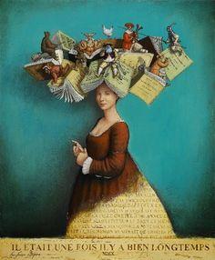 Sempre criança:   The readinggoes to your head /La lectura se su...