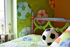 Soccer room www.lisafroststudio.com